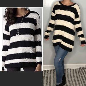 American Eagle vintage boyfriend stripe sweater S
